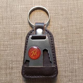 VINTAGE LEATHER KEY CHAIN