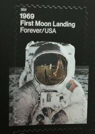Used USA Stamp - First Moon Landing