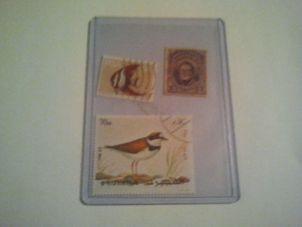 stamps lot of 3