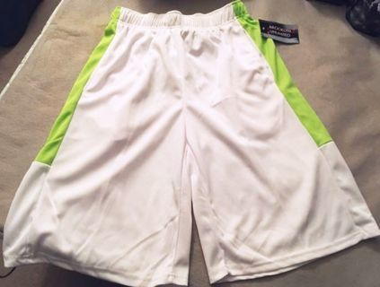 NEW Elastic Waist Shorts XXL , XL Stretchy Pull String Pockets FREE SHIPPING
