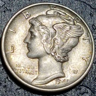 1943 Mercury Dime - Higher Grade