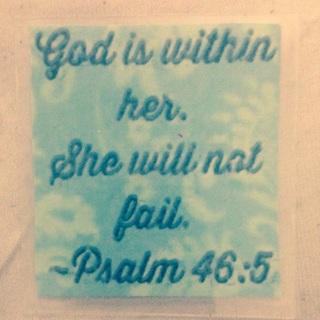 Laminated Bible Verse Card