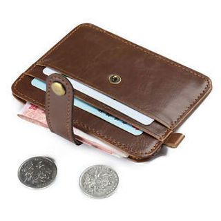 Real Women Clutch Horse Crazy Hasp Male Mini Wallets Small Purse Leather