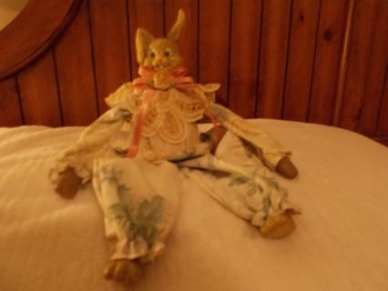 Febrick and ceramic Bunny