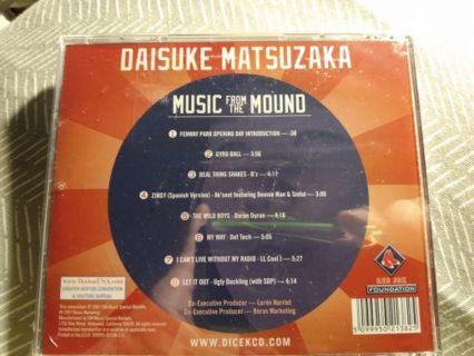 Music from the mound daisuke matsuzaka new