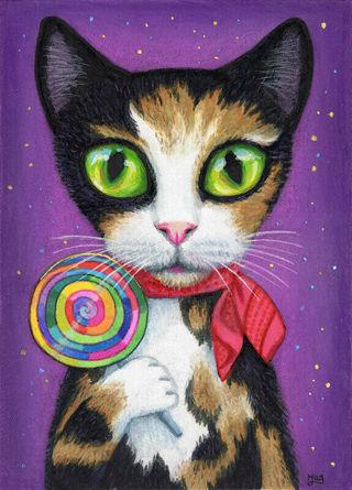 New Lollipop Cat Photo