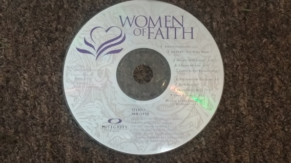 Women Of Faith by Integrity Music (Christian CD - Disc Only)