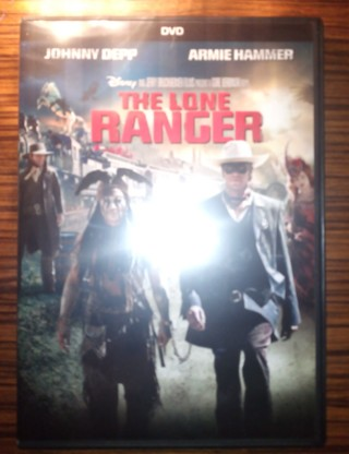 Brand New Disney The Lone Ranger Dvd