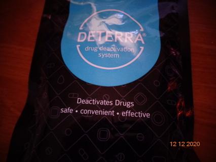 disposable prescription pouch