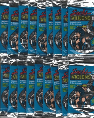 1 Hand Collated Sachs And Violens Trading Cards 90 Card Base Set & 18 Unopened S&V Packs