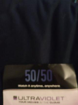 50/50 VUDU Code