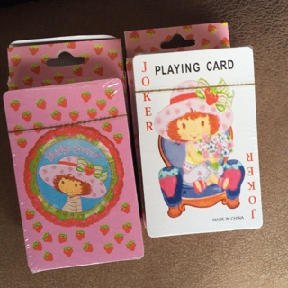 Strawberry Shortcake Playing Cards- 2 decks