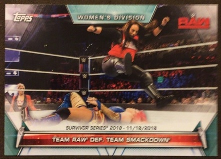 2019 Topps WWE Raw Vs. Smackdown