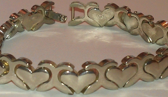 WOW!!!!! SOLID STERLING SILVER (Stamped) Bracelet [8 IN]