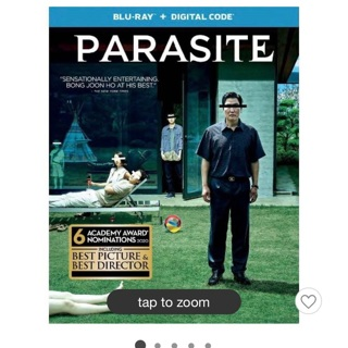 Digital code for Parasite from blu ray