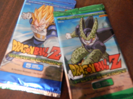 """COLLECTABLE """"DRAGONBALL Z""""  PERFECTION seriespack of cards"""