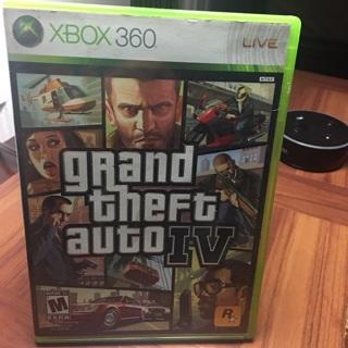 Grand theft Auto Xbox 360 IV