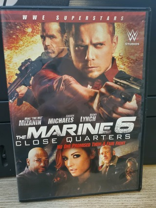 """DVD - """"The Marine 6 - Close Quarters"""" - rated R"""