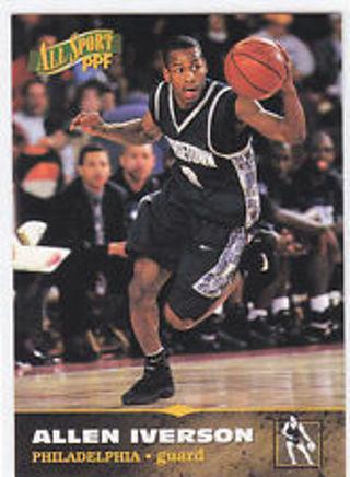 Free: Allen Iverson - 1996/97 Score Board All Sport PPF #7 ...