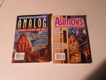 Asimov's & Analog Science Fiction Short Stories