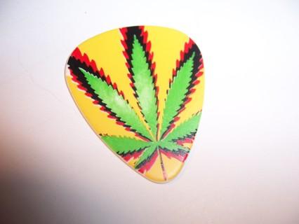 Pot Leaf Guitar Pick