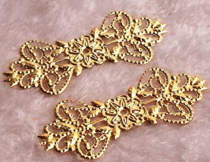 Craft embellishments Qty 2
