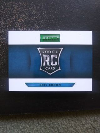 Eric Ebron SSP (RC #4/5) Panini Playbook