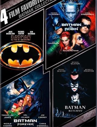 Batman 4-film favorites collection VUDU code