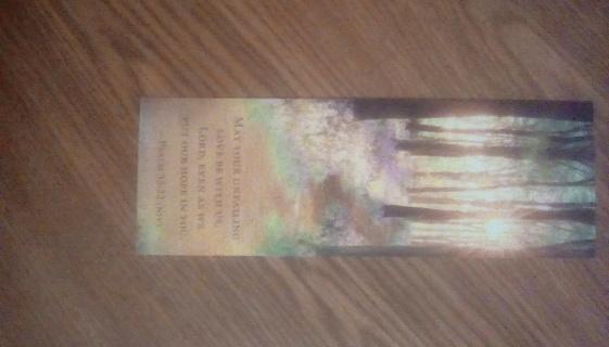 Christian bookmark