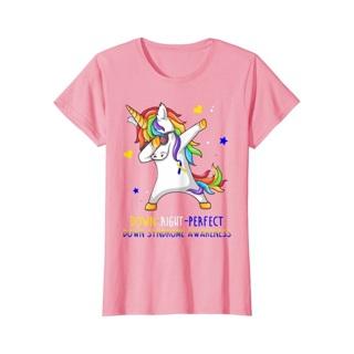 Women Unicorn Down Syndrome Awareness Shirt