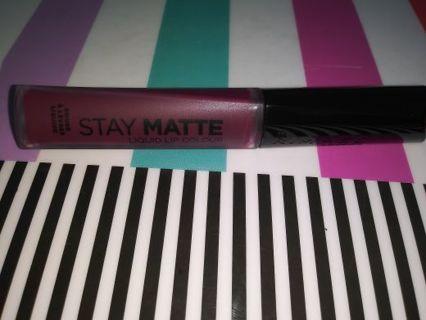 Rimmel Stay Matte Liquid Lip Colour In Midnight