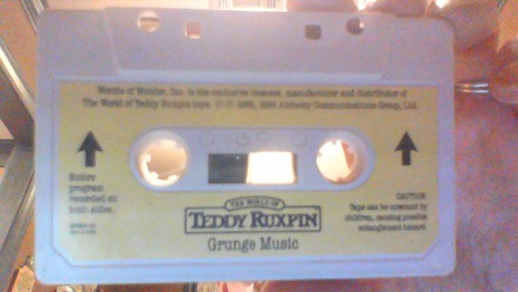 "The World of Teddy Ruxpin Tape ""Grunge Music"" 1985"