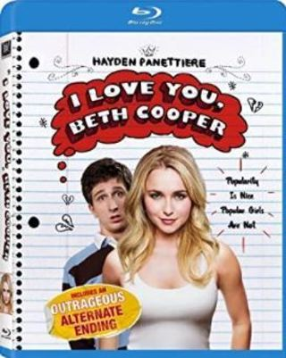 """BRAND NEW NEVER OPENED """"I LOVE YOU BETH COOPER"""" BLUE-RAY DISC"""