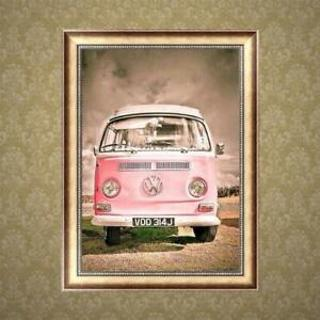 Car 5D Diamond Painting DIY Embroidery Cross Stitch Home Decor Needleworks