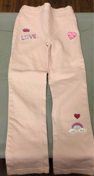 Little girls jeggings size 7 new no tag