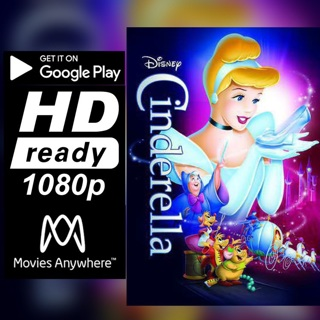 CINDERELLA HD GOOGLE PLAY CODE ONLY