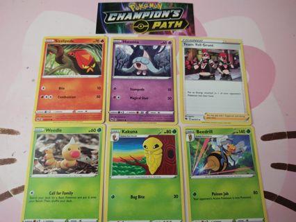 Pokemon champions path set common