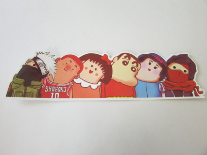 "NEW!!! 8"" WRY NECK ANIME CARTOON CHARACTERS Bumper Sticker"