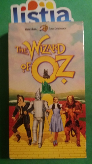 VHS movie  the wizard of oz   free shipping