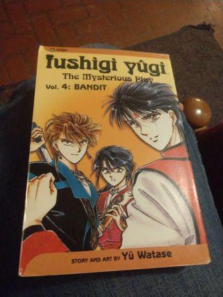 Fushigi Yugi Volume 4 (manga, paperback)