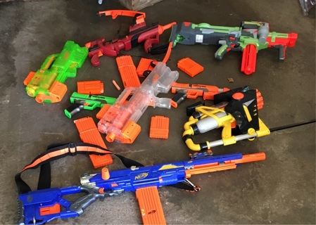 FREE: Nerf guns dirt bike