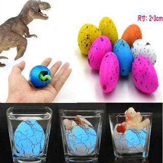6Pcs Magic Hatching Dinosaur Eggs Kid's Educational Add Water Growing Toys Gift