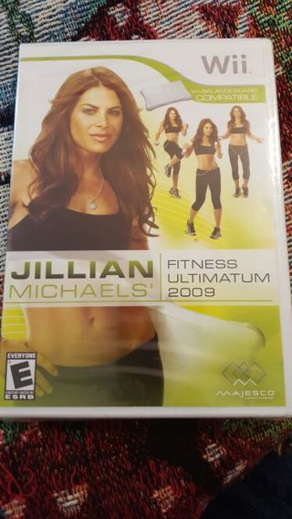 WII Jillian Michaels fitness Ultimatum brand new