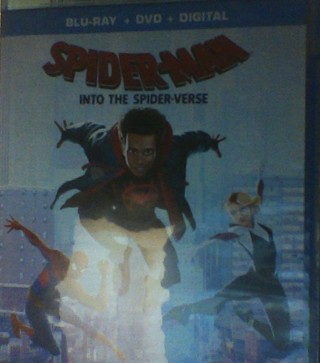 Spider-Man: into the Spider-Verse Blu-Ray And DVD
