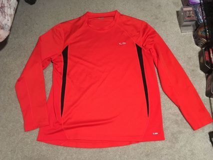 Nice Athletic Shirt Long Sleeve Run Gym Jog Sports