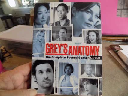 Grey\s Anatomy the Complete Second Season Uncut DVD