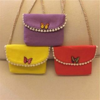 Cute Cloth Handbags Messenger Baby Girls Shoulder Bags Child Kids Coin Purses