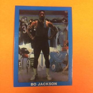 1990 (?) RB OF Bo Jackson - Raiders/Royals