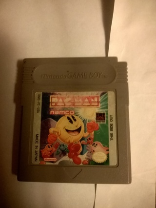 Pac-man Game Boy