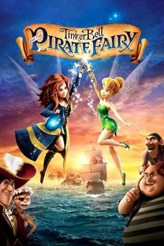 The Pirate Fairy (HDX) no points (Movies Anywhere) iTunes, Vudu, Digital copy